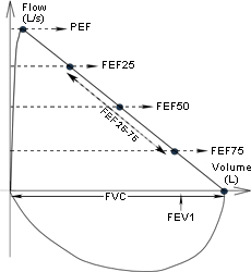 flow volume loop